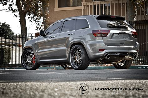 jeep grand cherokee modified jeep grand cherokee custom wheels ac 10 24x9 0 et