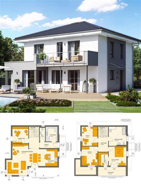 Modernes Einfamilienhaus Mit Walmdach Architektur & Putz