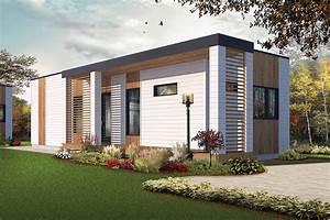 2 Bedrm  631 Sq Ft  U0026quot Container U0026quot  Style House Plan  126