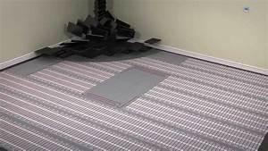 Underfloor Heating Mat Installation