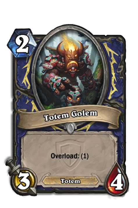Hearthstone Totem Golem Deck by Totem Golem Hearthstone Heroes Of Warcraft Wiki