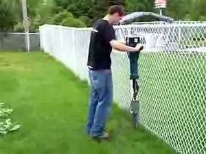 Poser Un Grillage Sans Ciment : instalation poteaux cl ture youtube ~ Dailycaller-alerts.com Idées de Décoration