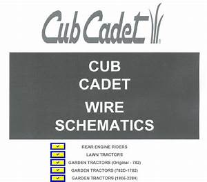 1862 Cub Cadet Wire Harness
