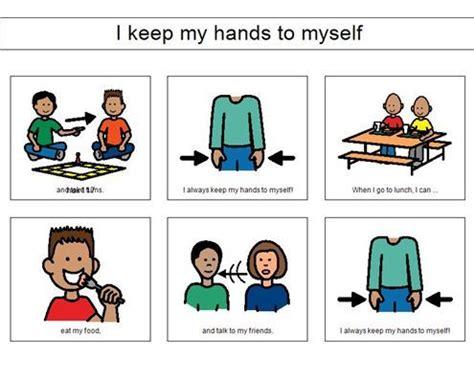 i keep my to myself quot social story school ideas 975 | a8afad0dfd66aecd7c265db534c91d9f hands to myself autism helper