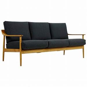 Knoll Antimott Sofa : 1950s wilhelm knoll antimott cherrywood sofa mid century ~ Sanjose-hotels-ca.com Haus und Dekorationen