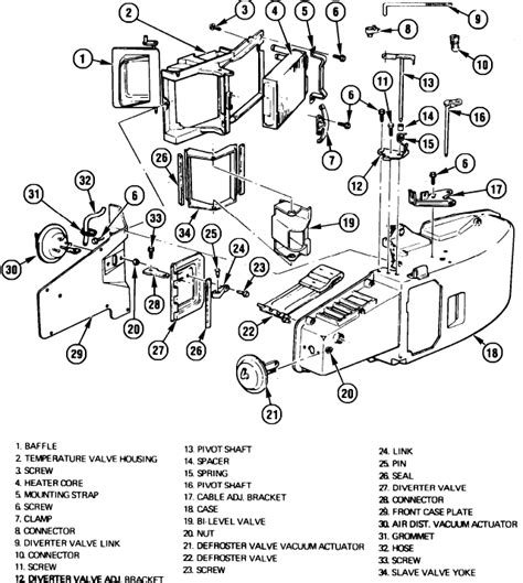 1987 Jeep Heater Wiring by I Need To Change The Heater On My 1977 Chev C20