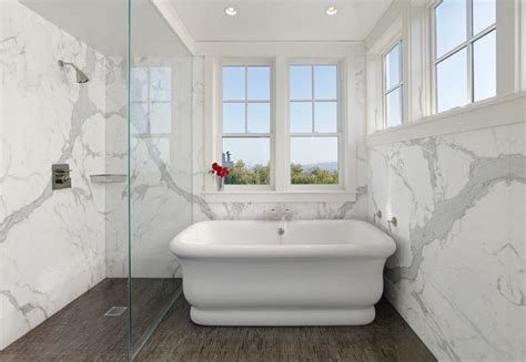 small bathroom ideas with shower only sophisticated bathroom designs that use marble to stay trendy