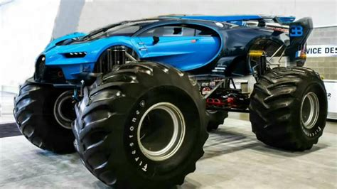 Trending news & car reviews. Modified Bugatti 2017 - Monster car - Bugatti vision Gt - The ultimate mod 2017 - (Photoshop ...