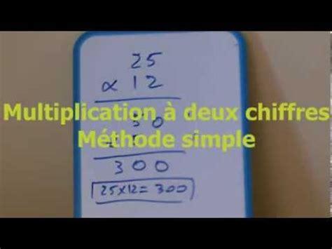 faire une virée à deux faire une multiplication 224 deux chiffres