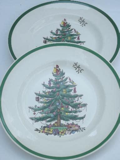 spode christmas tree china set of 8 spode england china