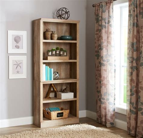 better homes and gardens bookshelf better homes and gardens crossmill 5 shelf bookcase