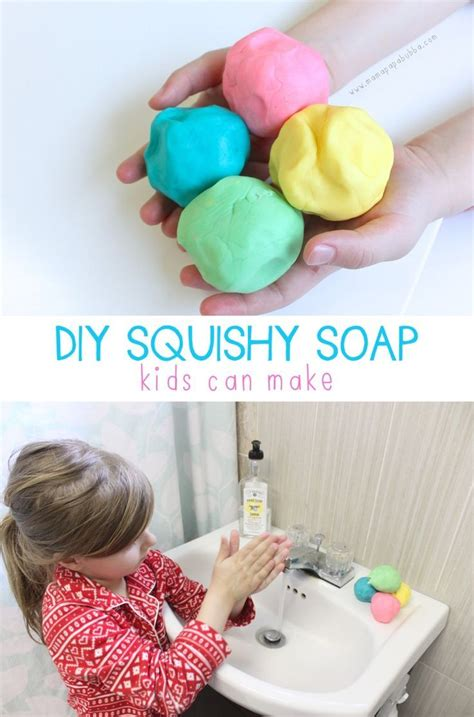 awesome diy squishy soap preschool art diy soap