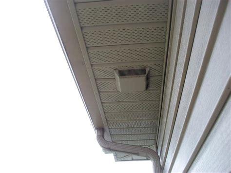 soffit bath fan ventilation internachi inspection forum