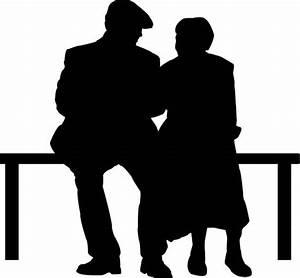 Image Gallery elderly silhouette