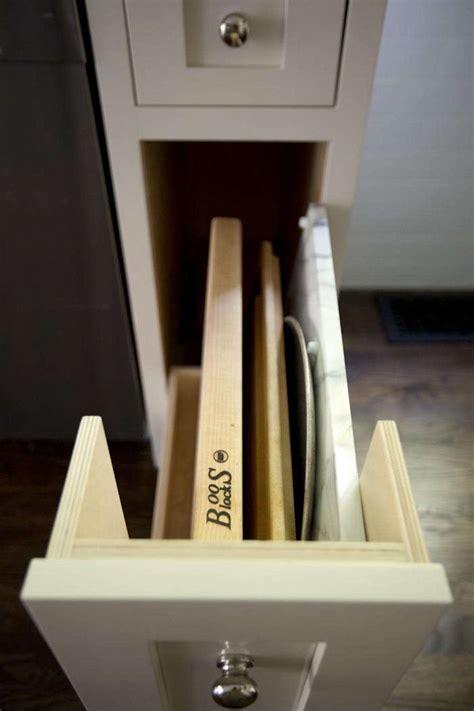 kitchen storage  cabinet  cutting boards
