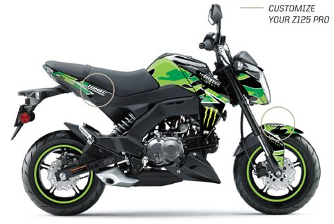 Kawasaki Z125 Pro Backgrounds by Green Camo Z125 Pro