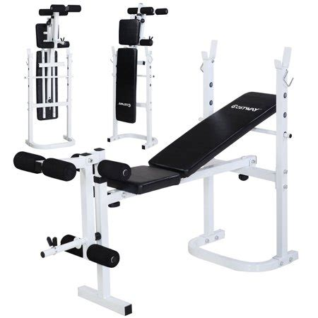 workout bench walmart costway olympic folding weight bench incline lift workout