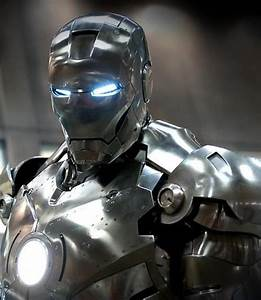 iron man silver suit | Metalic | Pinterest | Batman vs ...