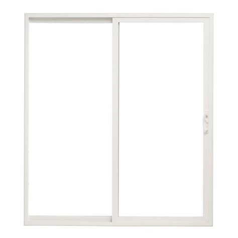 shop pella 6 sliding patio door vinyl 10 series clear low