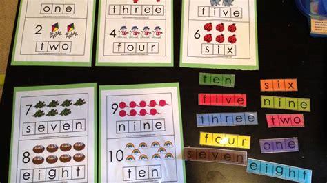 pre k and kindergarten learning activities