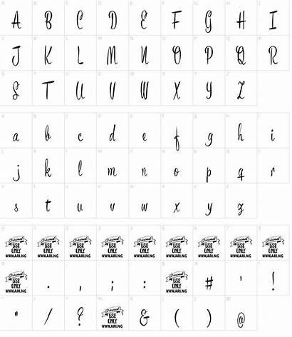 Script Bronze Font