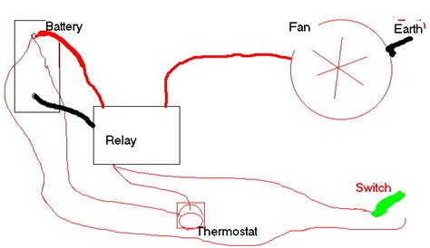 Wiring Cooling Fan With Relay