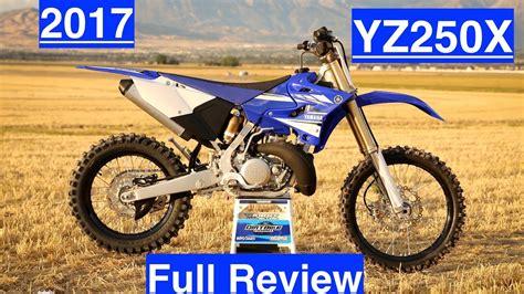 2017 yamaha yz250x review 2 stroke enduro weapon ktm killer episode 195 youtube