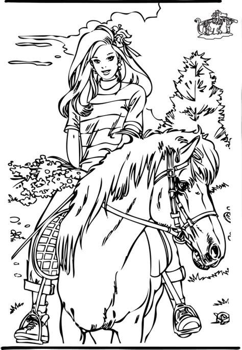 Stal Kleurplaat by Kleurplaten Paarden Stal