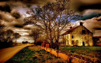 Country Scenes Pretty Cottage Desktop Paintings England