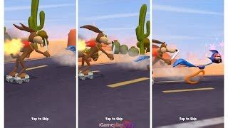 looney tunes show coyotes chase game game walkthrough