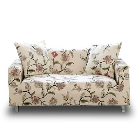 Patterned Loveseat by Hotniu Stretch Sofa Loveseat Cover Pattern Arm Chair