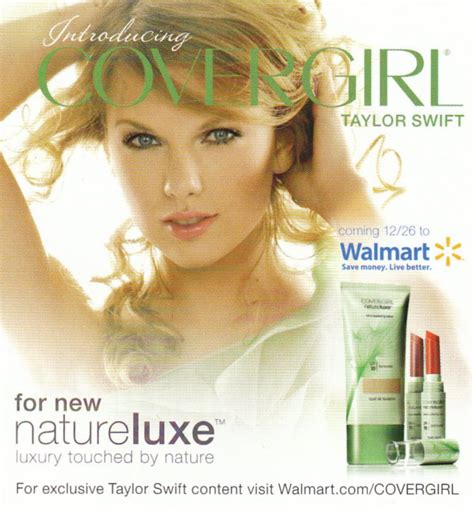 Taylor Swift's New Ad For Covergirl