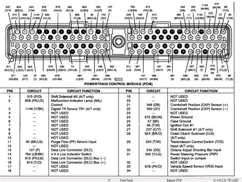 1996 Ford Explorer Pcm Wiring Diagram by 97 To 98 Pcm The Ranger Station Forums