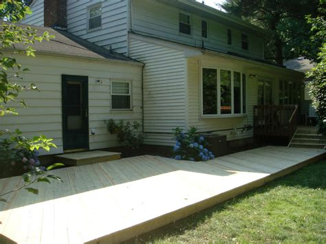 triyae backyard deck ideas ground level various