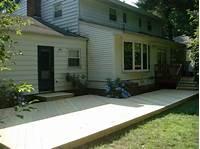 ground level deck plans Deck on the ground, ideas for decks around above ground pools simple deck ideas. Pool ideas ...
