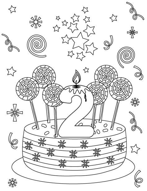 ustensiles de cuisine en p carte d 39 anniversaire 2 ans dory fr coloriages