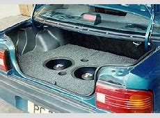 The Subwoofer DIY Page Projects A fiberglass spare tire