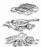 Oven Dutch Clipart Clip Library Fire Pages Cliparts Ates Insanescouter sketch template