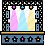 Stage Icon Icons Premium Events Flaticon Production