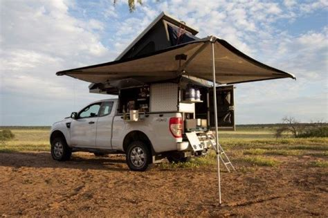 drive south africa  ford ranger luxury campers