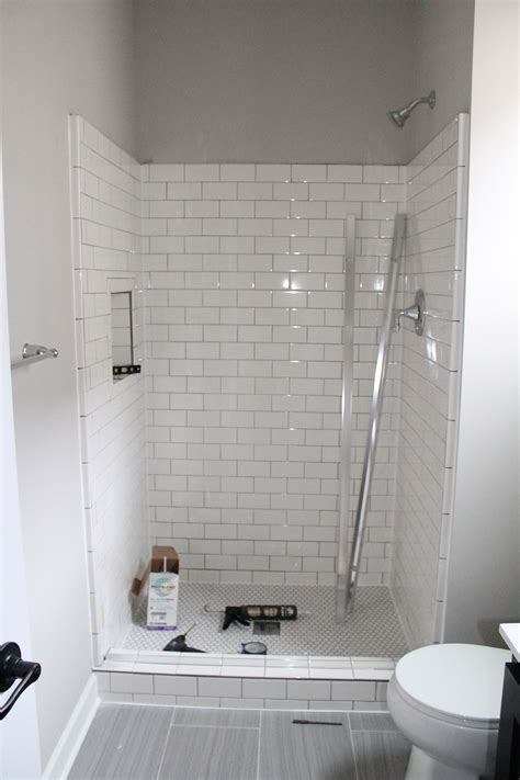 White Subway Tile Bathroom Ideas by 19 Fresh Shower Tile Ideas And Designs For 2019 Fresh