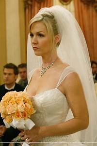 val39s wedding dress from what i like about you wedding With jennie garth wedding dress