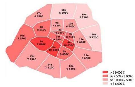 chambre des notaires de prix immobilier le mètre carré dépasse 7000 euros