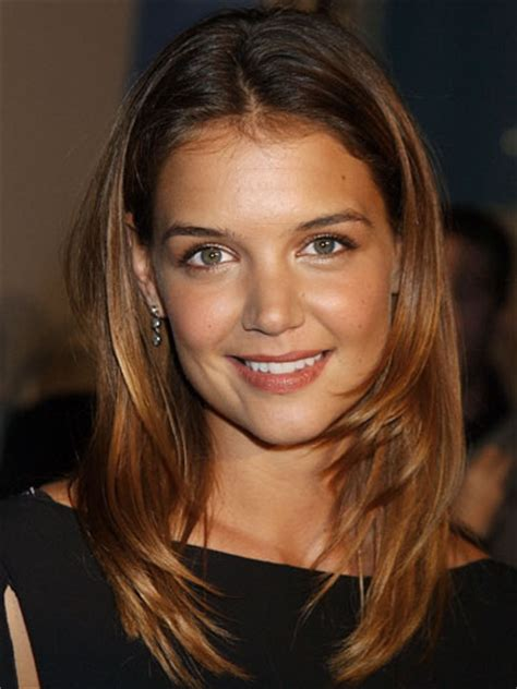katie holmes lets      hair styles