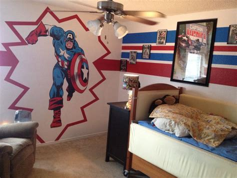 captain america room super hero room fatheadcom