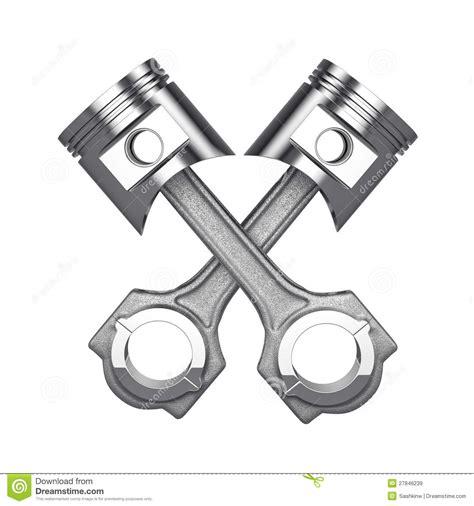 engine pistons stock illustration illustration of motor 27846239