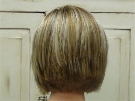 stacked haircuts  women