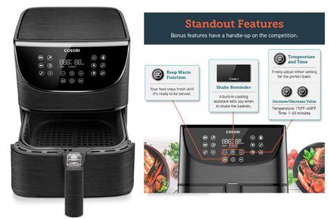 cosori air fryer max xl  watt review alices kitchen