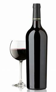 Elegant and expensive red wine bottle and glass - luxury ...