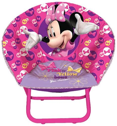 Disney Minnie Mouse Saucer Chair by Disney Minnie Mouse Toddler Saucer Chair 885245709457
